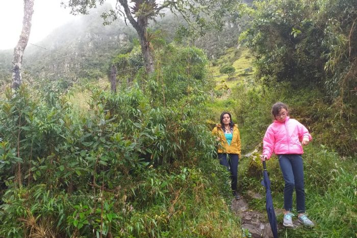 Caminatas ecológicas cerca a Bogota